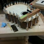 All glued and clamped