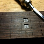12th fret double inlay