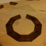 Rosette constructed out of little peices