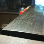 Fretboard polished