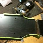 Repairing HS corners w/ black CA glue