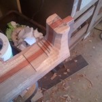 heel roughed out