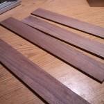Black walnut strips