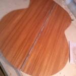 Walnut inlay