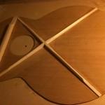 X-brace shaped