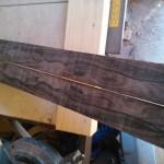Bookmatched ziricote (fretboard)